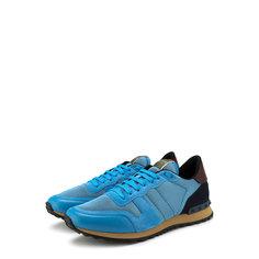 Кроссовки Valentino Комбинированные кроссовки Valentino Garavani Rockrunner на шнуровке Valentino