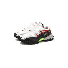 Кроссовки Valentino Комбинированные кроссовки Valentino Garavani Climbers Valentino