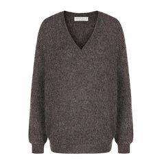 Свитеры Brunello Cucinelli Вязаный пуловер с V-образным вырезом Brunello Cucinelli