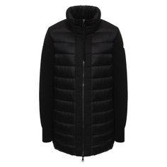 Куртки Moncler Пуховая куртка с воротником-стойкой Moncler