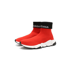 Кроссовки Balenciaga Текстильные кроссовки Speed Balenciaga