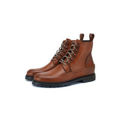 Кожаные ботинки Bottega Veneta
