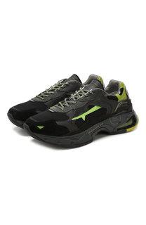 Комбинированные кроссовки Sharky Premiata