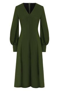 Шерстяное платье Escada