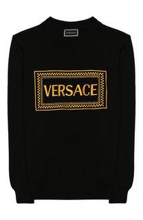 Хлопковый свитшот Versace