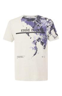 Хлопковая футболка Stone Island
