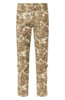 Хлопковые брюки Burberry