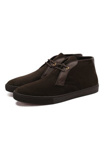 Замшевые ботинки Ermenegildo Zegna