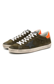 Замшевые кеды Superstar Golden Goose Deluxe Brand