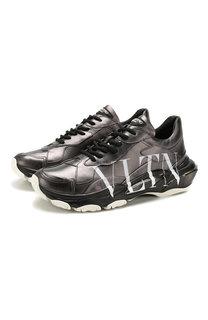 Кожаные кроссовки Valentino Garavani Bounce Valentino