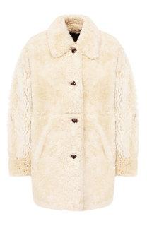 Меховое пальто Isabel Marant