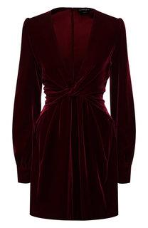 Бархатное платье Tom Ford