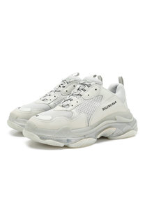 Комбинированные кроссовки Triple S Balenciaga