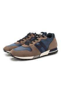 Комбинированные кроссовки Hogan
