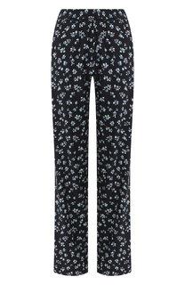 Шелковые брюки Poustovit