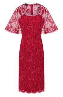 Кружевное платье Escada