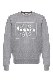 Хлопковый свитшот Moncler