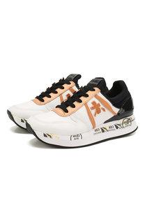 Кожаные кроссовки Liz Premiata