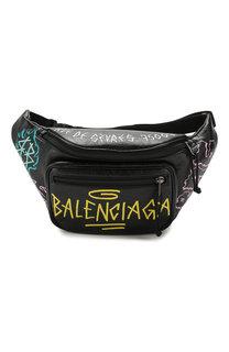 Кожаная поясная сумка Explorer Balenciaga
