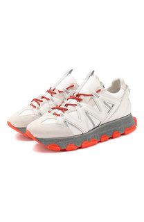 Кожаные кроссовки Lanvin