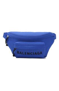 Текстильная поясная сумка Wheel Balenciaga