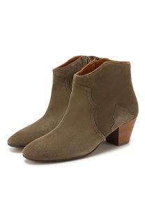 Замшевые ботинки Dicker Isabel Marant