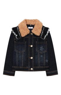 Джинсовая куртка Monnalisa