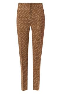 Шелковые брюки Burberry