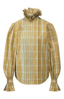 Хлопковая блузка Runway Marc Jacobs