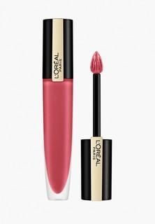 """Тинт для губ LOreal Paris LOreal Rouge Signature Parisian Sunset, матовый, оттенок 121, """"Я выбираю"""", розовый, 7 мл"""