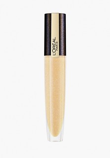 """Помада LOreal Paris L'Oreal Rouge Signature, с эффектом шиммера, оттенок 212, """"Желтое золото"""", золотистый, 7 мл"""