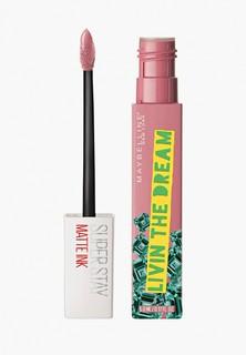 Помада Maybelline New York SuperStay Matte Ink Коллекция Ashley Longshore , оттенок 10, Мечтатель, 5 мл