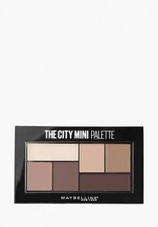 Палетка для глаз Maybelline New York The City Mini, оттенок 480, Matte About town, 6 гр