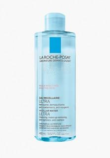 Мицеллярная вода La Roche-Posay Ultra Reactive для чувствительной и склонной к аллергии кожи лица и глаз, 400 мл