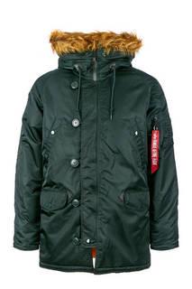 Куртка 103141 dark petrol Alpha Industries