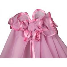 BamBola Балдахин для детской кроватки 150*400 Розовый 188