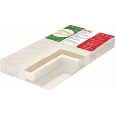 Детский матрас Ploomababy PLOOMA 7 SHW B1 зима-лето 120х60x12 bamboo /сизаль/холлкон/холлкон-шерсть