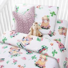 Комплект детского постельного белья Mona Liza ОВЕЧКИ бязь,хлопок 100% 521025