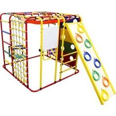 Детский спортивный комплекс Формула здоровья Кубик У Плюс красный/радуга