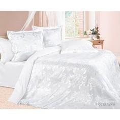 Комплект постельного белья Ecotex Семейный, сатин-жаккард, Ностальжи (4670016957160)