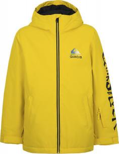 Куртка утепленная для мальчиков Quiksilver In The Hood Youth, размер 164-170