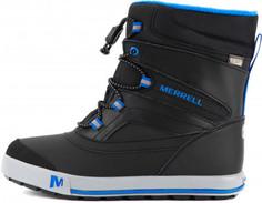 Ботинки утепленные для мальчиков Merrell Ml-Boys Snow Bank 2.0, размер 31.5