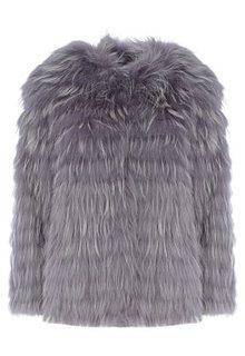 Шуба из меха енота Virtuale Fur Collection