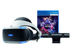 Шлем виртуальной реальности Sony PlayStation VR CUH-ZVR2 + Camera V2 + PS VR Worlds PS719782216