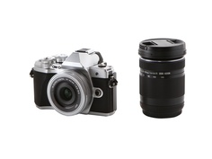 Фотоаппарат Olympus OM-D E-M10 Mark III Kit 14-42mm EZ Pancake + 40-150mm R Silver-Silver-Black