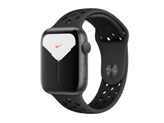 Умные часы APPLE Watch Nike Series 5 44mm Space Grey Aluminium with Anthracite-Black Nike Sport Band SM - ML MX3W2RU/A