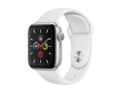 Умные часы Apple Watch Series 5 GPS 40mm Aluminum Case with Sport Band White MWV62RU/A