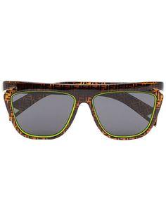 Fendi солнцезащитные очки с монограммой