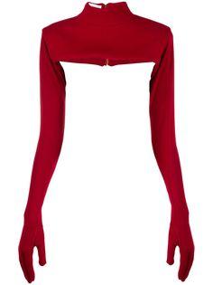 Atu Body Couture декорированный топ
