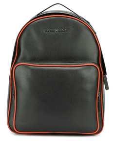 Emporio Armani рюкзак с контрастной отделкой